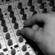 audio mixing — Stock Photo