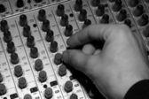 Audio mixing — Stock Photo