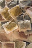 Various tea bags — Stock Photo