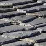 Tetto di pietra — Stock Photo #7661843