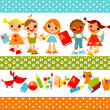 Royalty-Free Stock Vector Image: Childrens