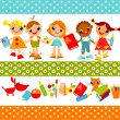 Childrens — Stock Vector #7587543