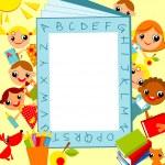 Children's background — Stock vektor