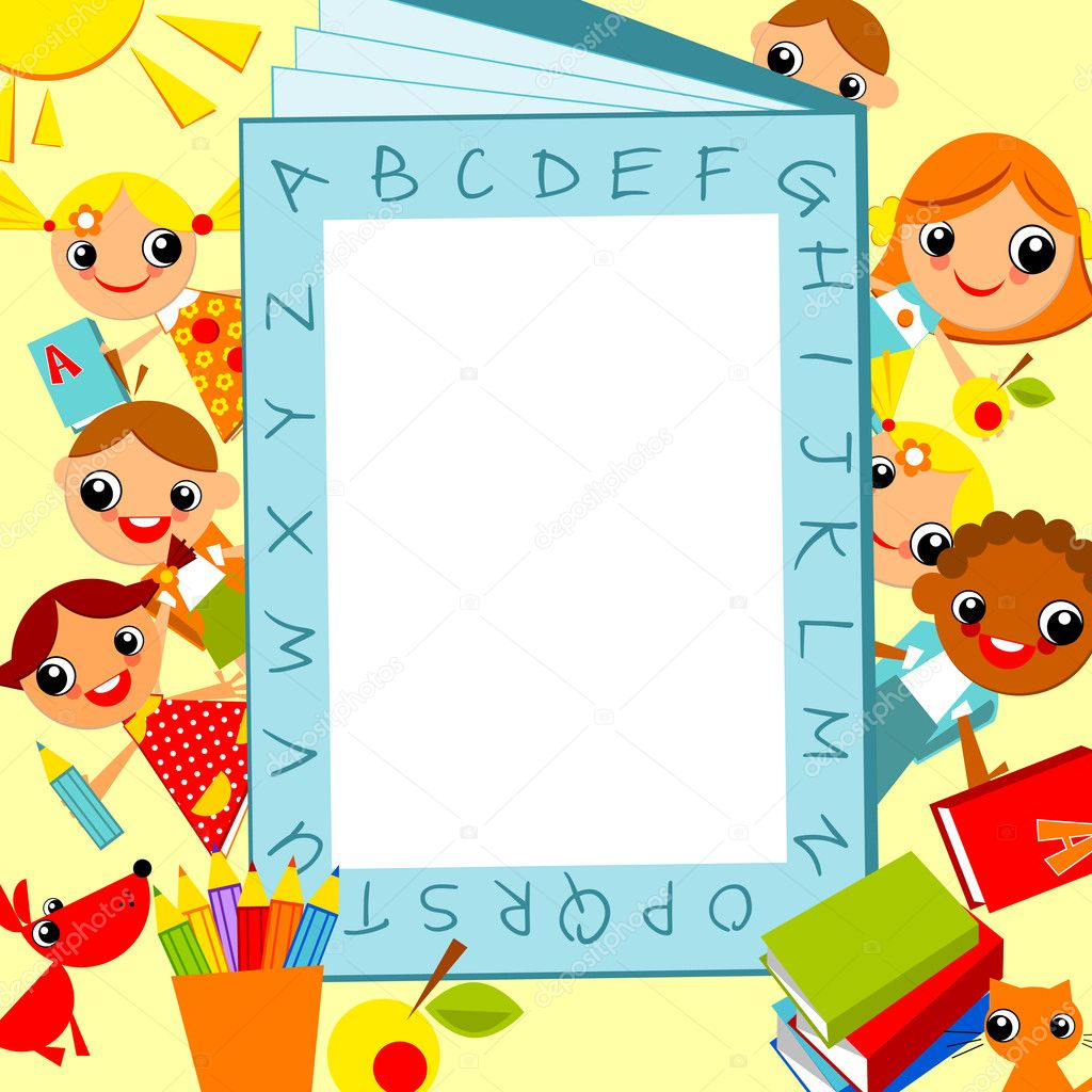 Children Background Clip Art