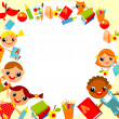 Children's background — Vector de stock