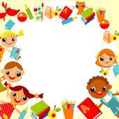 Children's background — Stock Vector