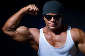 Handsome muscular man. — Stock Photo