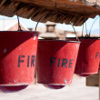 Fire Bucket - Stock Photo