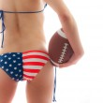American Football — Стоковое фото