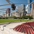 Millennium Park Theater - Stock Photo