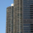 Twin Towers Chicago - Stock Photo