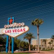 Las Vegas Sign - Stockfoto