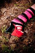 Bacak ısıtıcıları — Stok fotoğraf