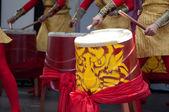 Chinese Drums — Zdjęcie stockowe