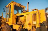 Traktor motor — Stockfoto