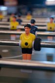 Foosball Player — Stock Photo
