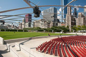 Millennium Park Theater — Stock Photo