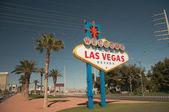 Las Vegas Sign Right — Stock Photo