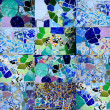 Gaudi mosaic — Stock Photo