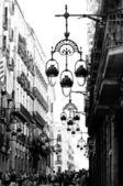 Gothic quarter of Barcelona — Stock Photo