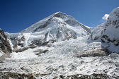Khumbu Icefall — Stock Photo