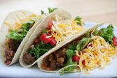 Tacos de carne — Foto de Stock