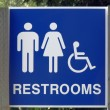 Restroom Sign — Stock Photo #7689462