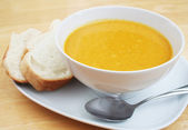 Butternut Squash Soup — Stock Photo