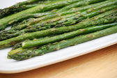 Roasted Asparagus — Stock Photo