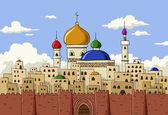 Arabic town — Stock Vector