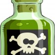 Stock Vector: Poison