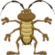 Stock Vector: Cockroach