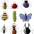 Insects — Stock Vector #7614853