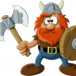 Viking — Stock Vector #7615239