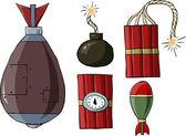 Bomba — Vector de stock