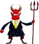 Devil boss — Stock Vector
