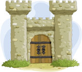 Fortress — Stock Vector