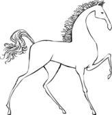 Cavallo — Vettoriale Stock