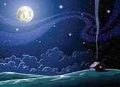 Night — Stock Vector