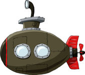 Submarine — Stock Vector