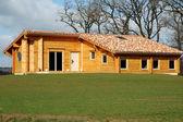 Wood house — Stock Photo