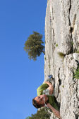 Climber-two — Stock Photo