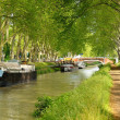 Canal and boats — Stock Photo #7843018