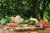 Repas legumes — Stock Photo