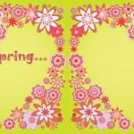 Love spring — Stock Vector #7718911