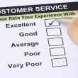 Customer Service Survey - Stock Photo
