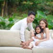Asian Family — Stock Photo #7611671