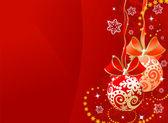 Christmas sphere — Stock Vector