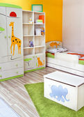 Brand New Room for Little Boy — Stock Photo