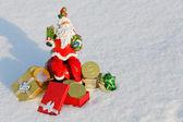 Vintage Santa Claus — Stock Photo